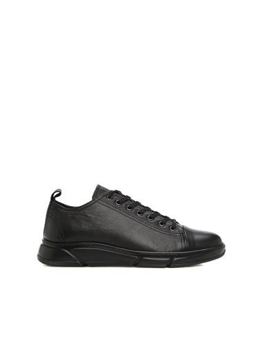 Divarese 5025018 Erkek Deri Ayakkabı Siyah